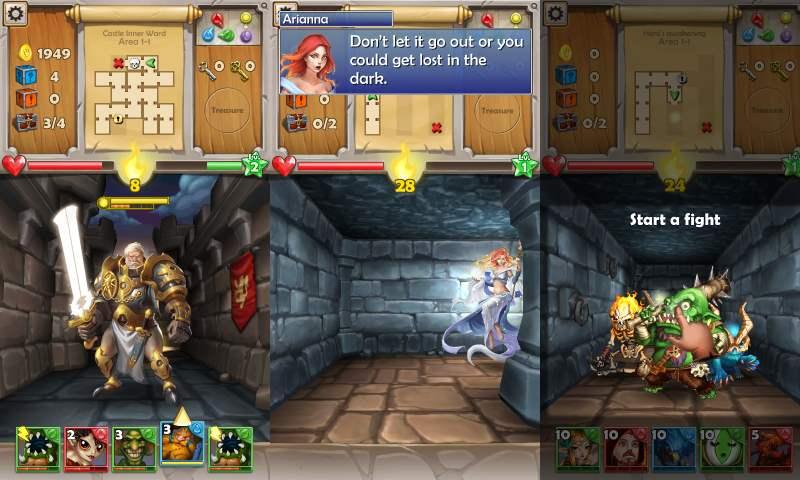 игровой процесс в dungeon monsterd prg