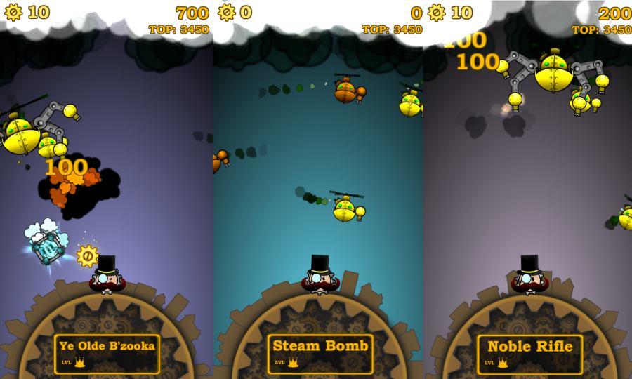 kings of steam игровой процесс на андроид