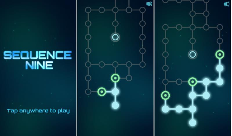 android-game-sequence-nine-main-menu
