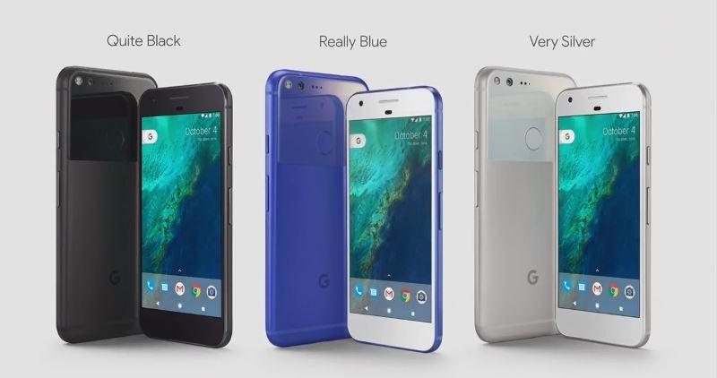 google-pixel-in-3-collors