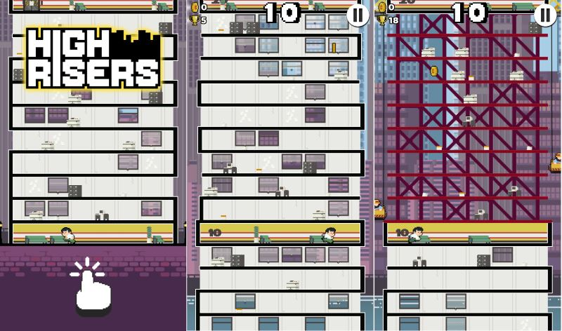 high-risers-game-start-on-android